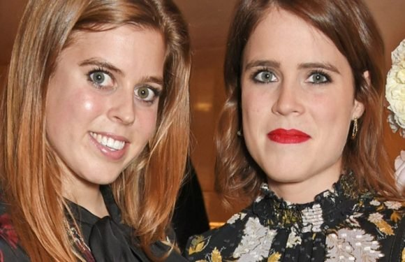 See the first photo of Beatrice and Eugenie in British Vogue