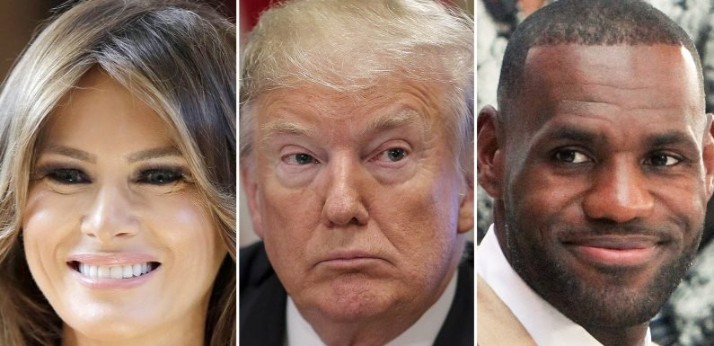 Melania Trump Sides With LeBron James After Husband Donald Slams Him