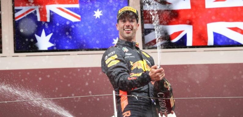 Daniel Ricciardo to leave Red Bull at the end of the season