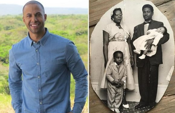 Shocked Marvin Humes learns his black ancestor was a slave OWNER in Jamaica while exploring family history on Who Do You Think You Are?