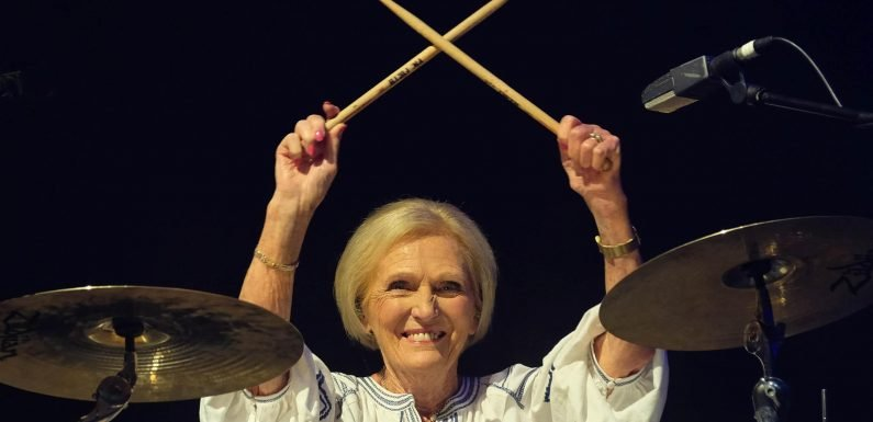 Mary Berry to attend music festivals around the world for wacky new BBC series