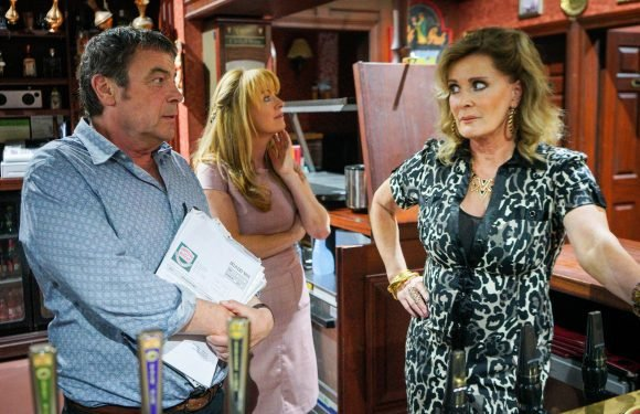 Coronation Street spoilers: Johnny Connor officially buys the Rovers Return as he brings lover Liz McDonald in with him