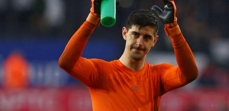 Thibaut Courtois' Chelsea farewell to fans is DELETED after just half an hour due to barrage of abuse