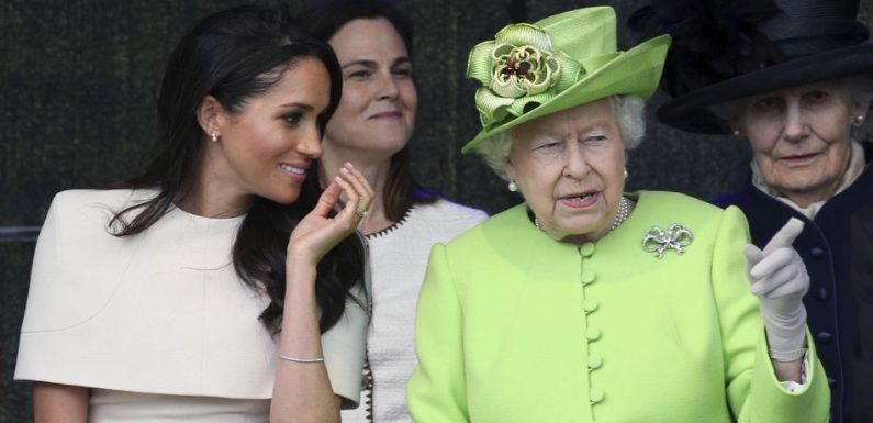 The Queen's Sweet Birthday Message To Meghan Markle Proves Their Close Bond