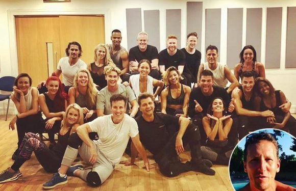 Strictly professionals reunite for first day of 2018 rehearsals as axed Brendan Cole wishes them 'all the best'