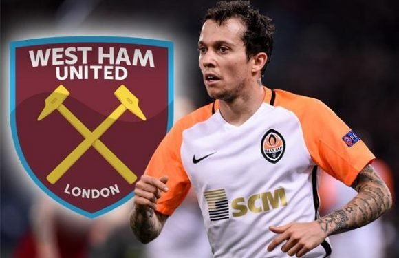 West Ham looking to beat Chelsea to signing of Brazilian winger Bernard after dropping £200,000-a-week wage demands