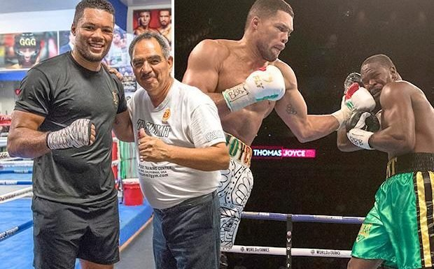 Joe Joyce heads to US to work with Gennady Golovkin's trainer Abel Sanchez