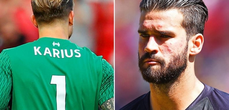 Liverpool squad numbers: Loris Karius 'to KEEP No1 jersey' this season with Alisson passing on it in classy gesture