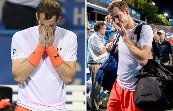 Andy Murray withdraws from Rogers Cup in Toronto to continue recovery from hip injury