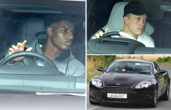 Marcus Rashford and Phil Jones return to Manchester United training after World Cup heroics
