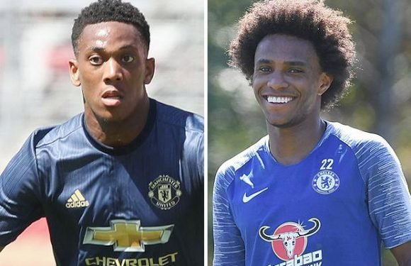 Manchester United transfer news: Red Devils to offer Anthony Martial in straight swap for Willian with both valued at £75m