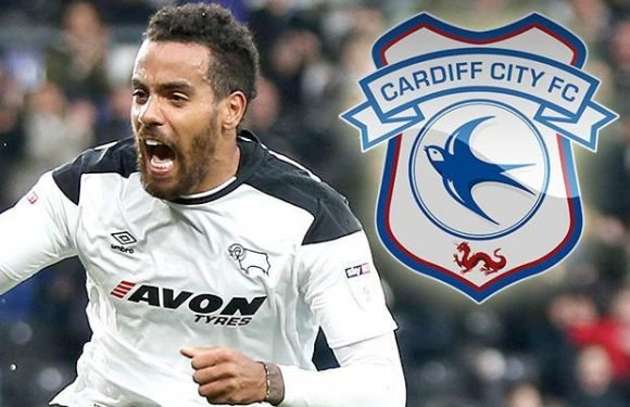 Cardiff eye late bid for Derby's Tom Huddlestone as they look to bolster midfield before deadline day