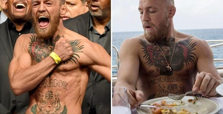 Conor McGregor's diet: Former UFC champion has been nibbling on kale and dark chocolate while sipping green tea with a new diet aimed at slowing down ageing
