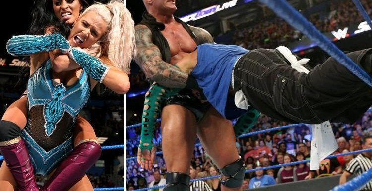 WWE SmackDown: Randy Orton destroyed Jeff Hardy, The Bar returned and SummerSlam has a women's triple threat