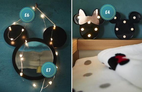 Primark's House of Mouse homeware range is a must for Disney fans – and prices start at just £4