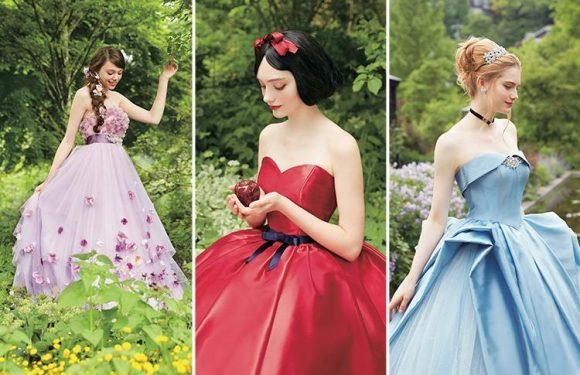 Disney wedding dresses now exist and we're absolutely enchanted