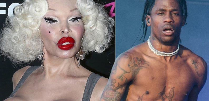 Travis Scott never knew Amanda Lepore was on 'Astroworld' art
