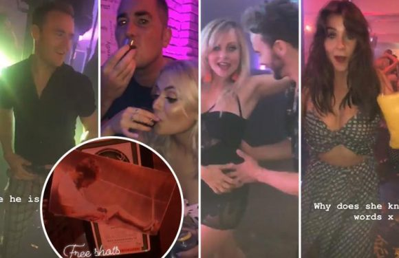 Inside Coronation Street's boozy summer bash with free shots, cast karaoke and THAT Jack P Shepherd lift snap