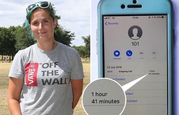 Police keep caller waiting one hour and 41 minutes as she tries to report a drug deal