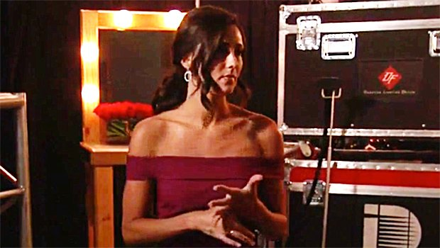 Becca Kufrin Stuns In Off-The-Shoulder Gown For 'After The Final Rose' — Pic