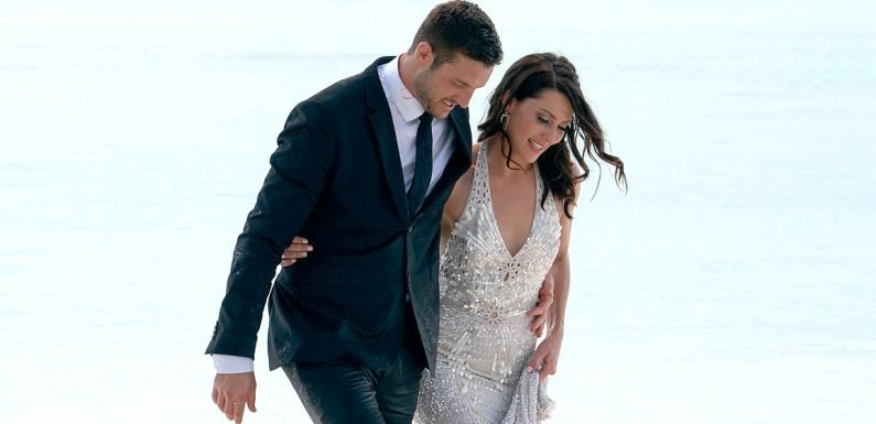 Bachelorette Becca Kufrin Got Engaged in an $18,000 Couture Gown