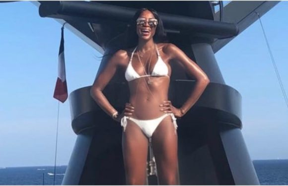 Naomi Campbell's Latest Bikini Snap Might Just Be Her Sexiest Yet