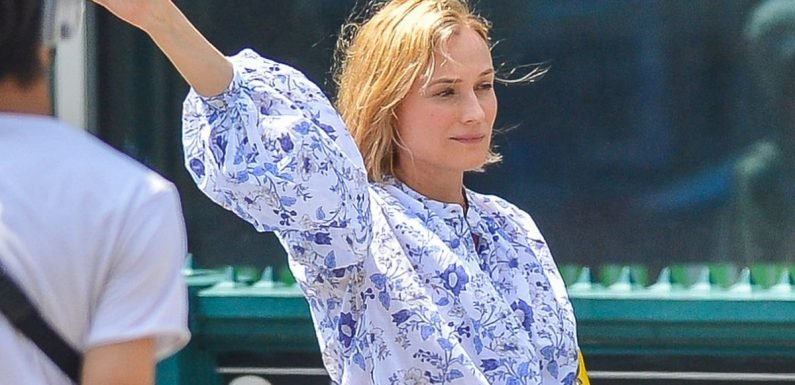 Mom-to-Be Diane Kruger Gives a Glimpse of Her Growing Belly While Hailing a Taxi in NYC