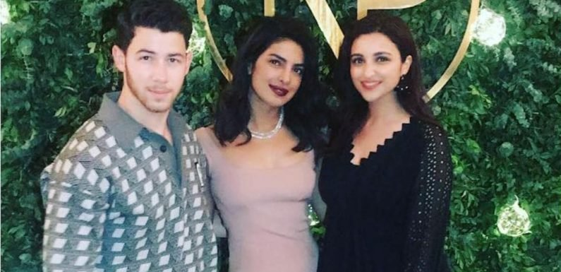 Priyanka Chopra's Second Engagement Party Dress Is Simple, Yet So Damn Perfect