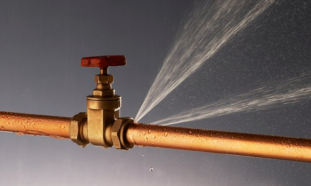 Leaky pipes continue to lose enough water for 22million customers