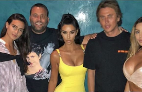 "If Kim Kardashian's Versace Minidress Isn't the Definition of ""Going All Out,"" What Is?"