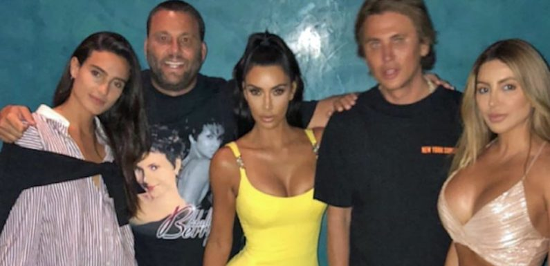 """If Kim Kardashian's Versace Minidress Isn't the Definition of """"Going All Out,"""" What Is?"""