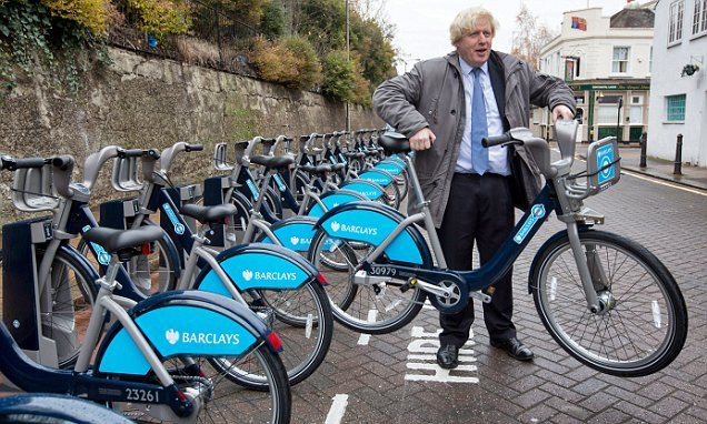 Boris bikes are not good for the environment OR our public health