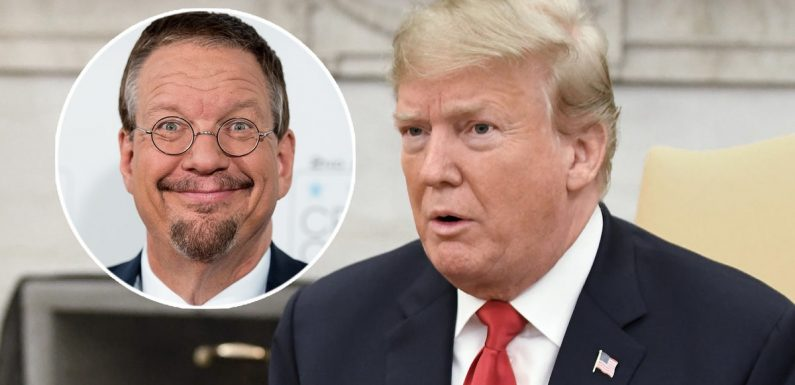 Magician Penn Jillette Says He Heard Trump Say 'Racially Insensitive Things' on 'Celebrity Apprentice'