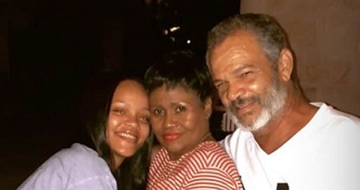 Rihanna's Rare Photo with Mom and Dad Together