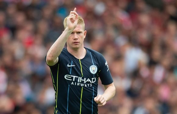 Manchester City confirm length of Kevin De Bruyne's injury layoff