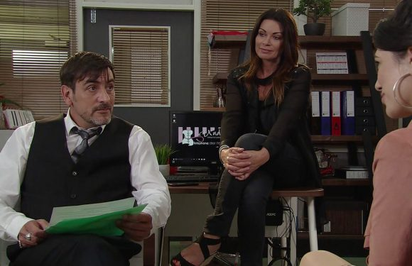 Corrie's Tina McIntyre makes shock 'return from the dead' as Peter is tested