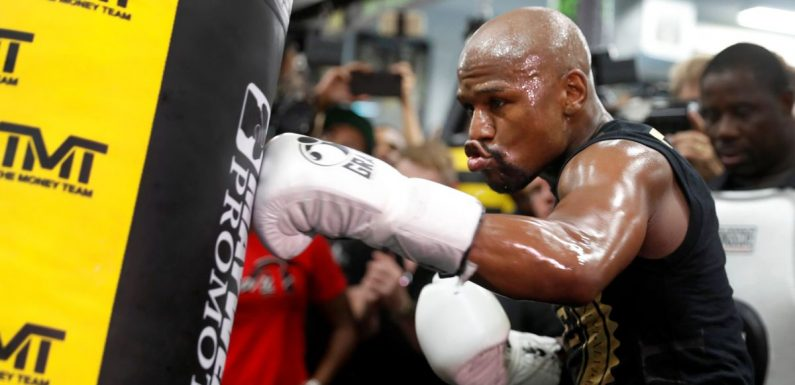 Conor McGregor responds to Floyd Mayweather's offer to train at his gym