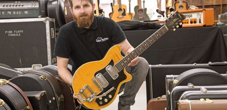 George Harrison's guitar from 1963 Cavern gigs set to sell for £400k at auction