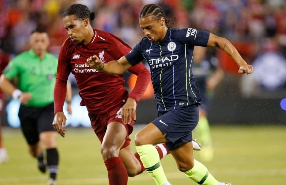 Virgil van Dijk explains where the real pressure on Liverpool comes from