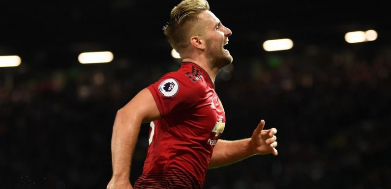 Eric Bailly impressed Man United fans with his reaction to Luke Shaw's goal