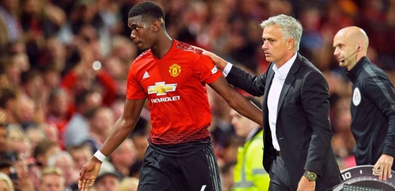 Man United make decision on Paul Pogba's future after bust-up with Jose Mourinho