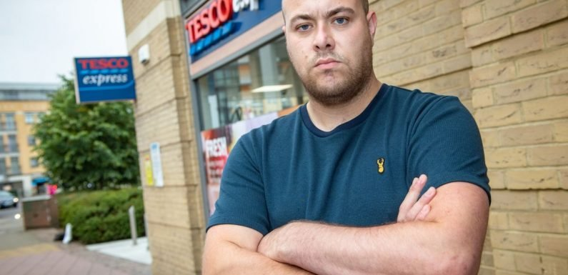 Tesco apologises after shopper was thrown out of store 'for being overweight'