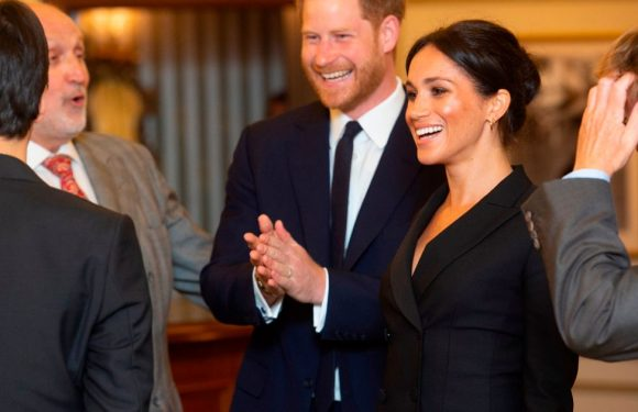 Meghan Markle shows off legs as she arrives to watch hit musical Hamilton