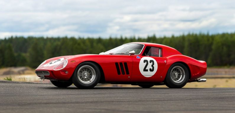 "Classic ""holy grail"" Ferrari sells for auction world record of £37m"
