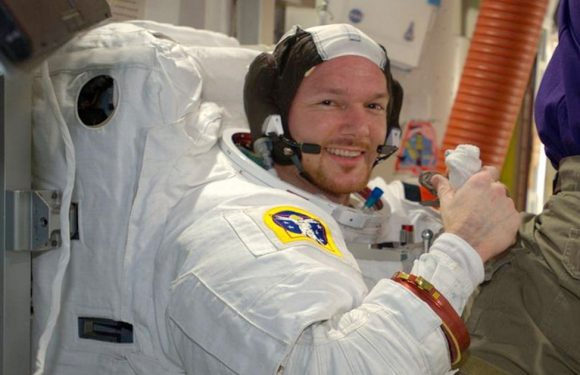 Astronaut finds unusual way of plugging space station leak after meteor damage
