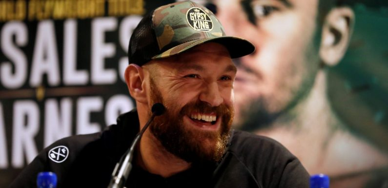 Tyson Fury goads Deontay Wilder as he prepares to face off with rival