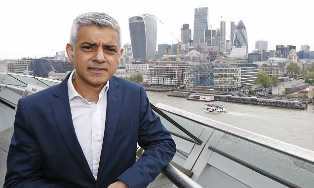 Uber to be limited by Sadiq Khan in congestion and pollution crackdown