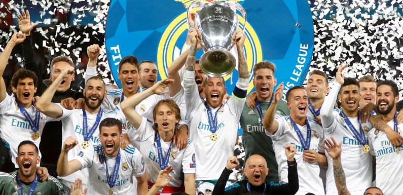 The staggering prize money on offer for Champions League winners