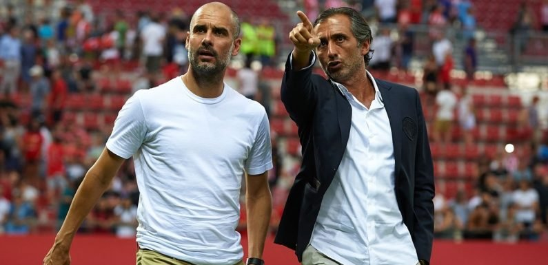 Pep reveals secret to Man City's success is a water polo player called Manel