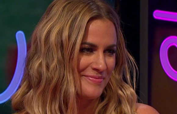Caroline Flack is totally unrecognisable in throwback snap with Jack Osbourne